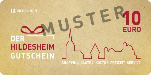 Hildesheim Gutschein 10€
