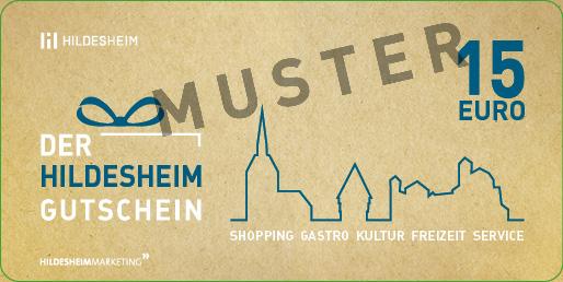 Hildesheim Gutschein 15 €
